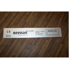 Serial Number adhesive aluminium plate